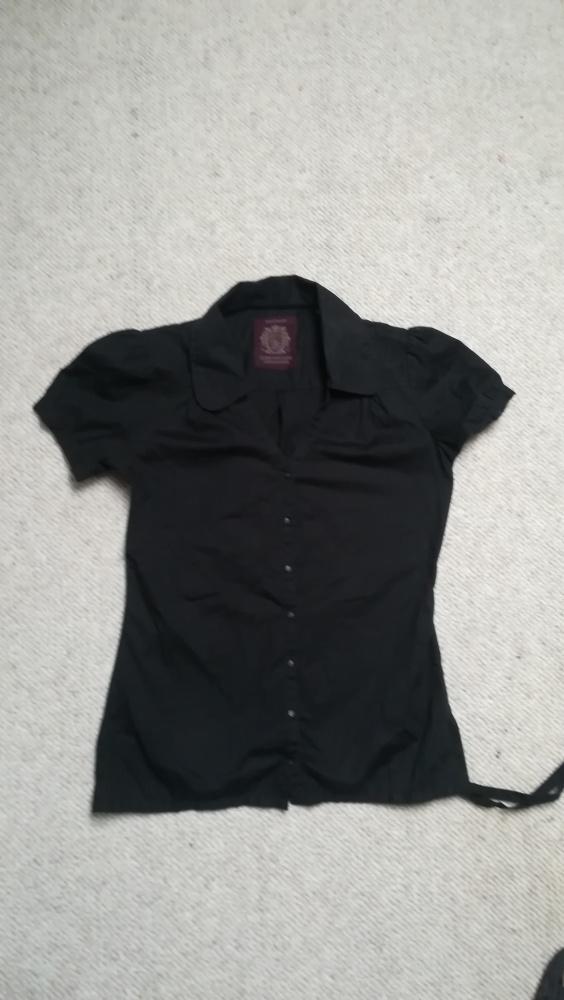 Bluzki Czarna bluzka nowa z metka