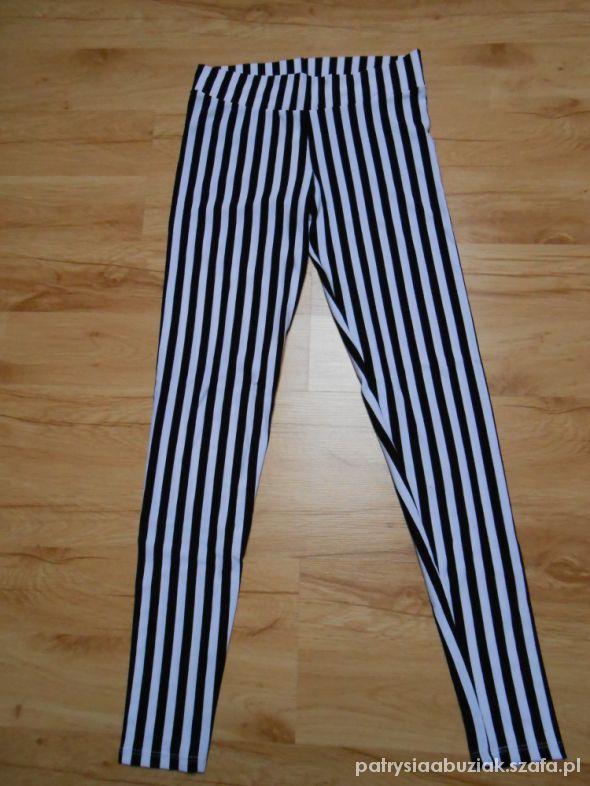 nowe legginsy w paski