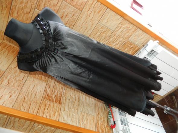 B young luźna czarna sukienka roz M