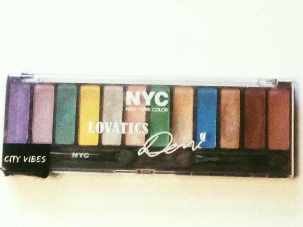 Paletka cieni Lovatics New York Color NYC kolorowe Demi Lovato City Vibes