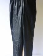 Spodnie Czarne Tregginsy XS 34 Skórzane Skóra Na Kd...