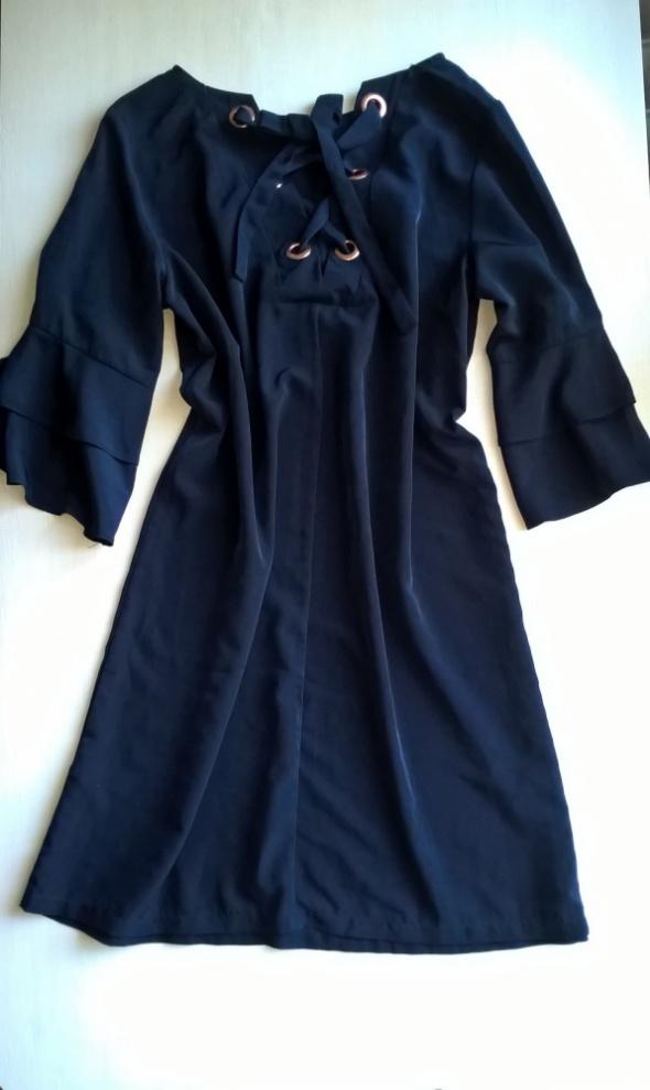 Granatowa sukienka Atmosphere 40 42