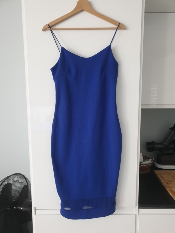 Sukienka granatowa ML...
