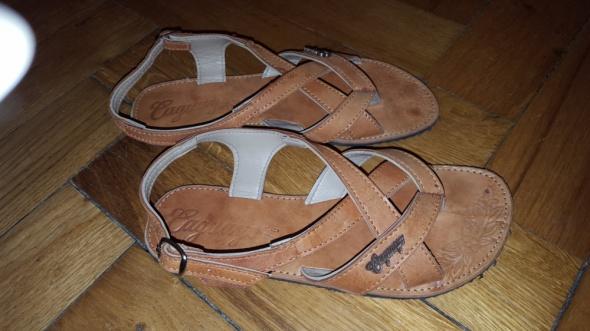 Sandałki SKÓRA handmade z Karaibów