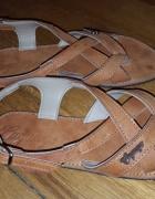 Sandałki SKÓRA handmade z Karaibów...