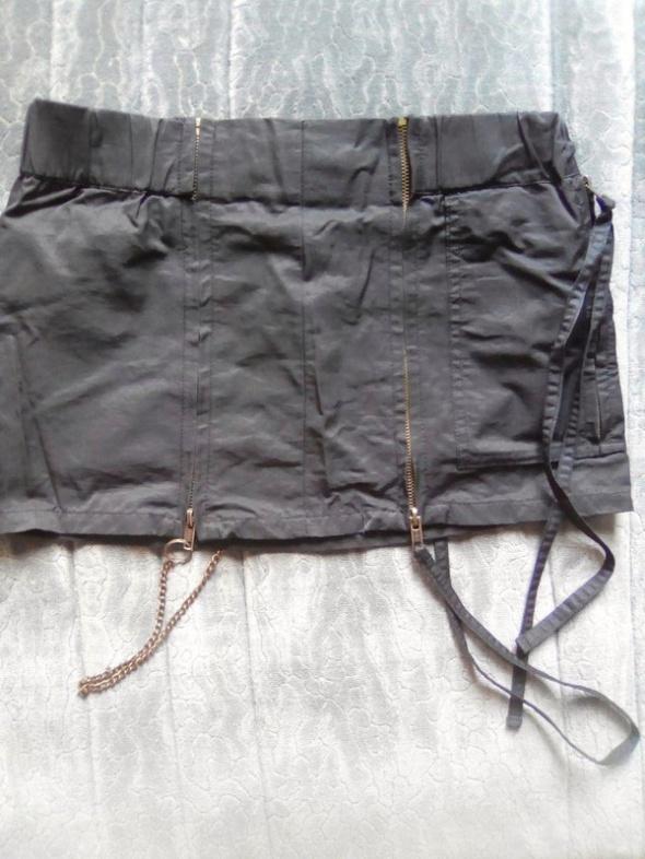 spódnica goth rock łańcuch...