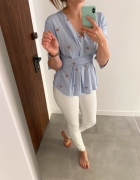 Orsay koszula bluzka elegancka baskinka S...