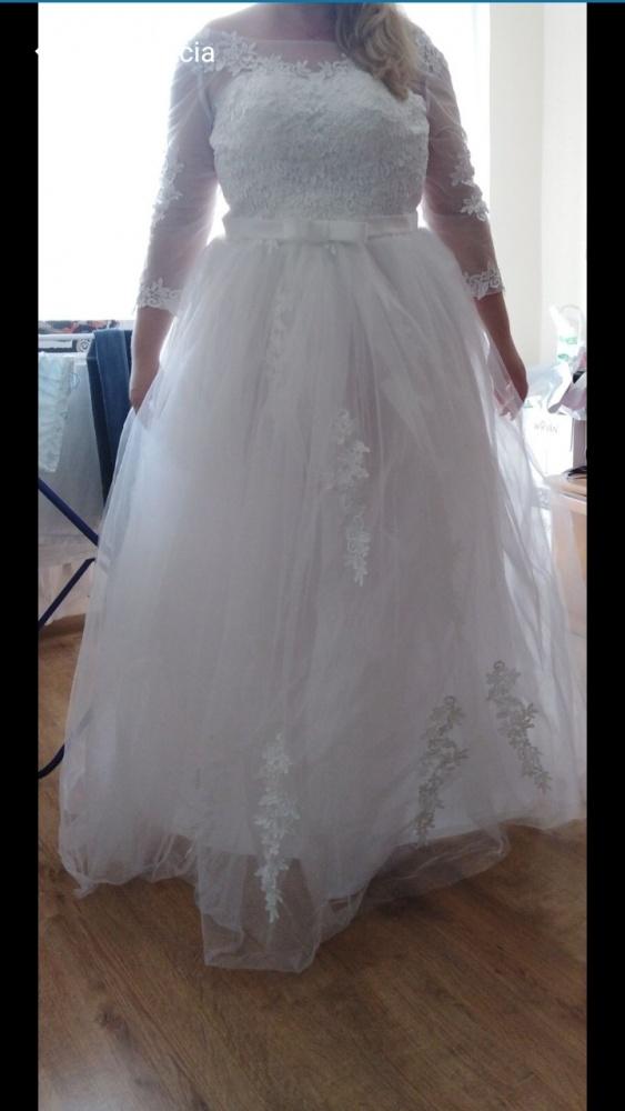 Piękna suknia ślubna 38 40