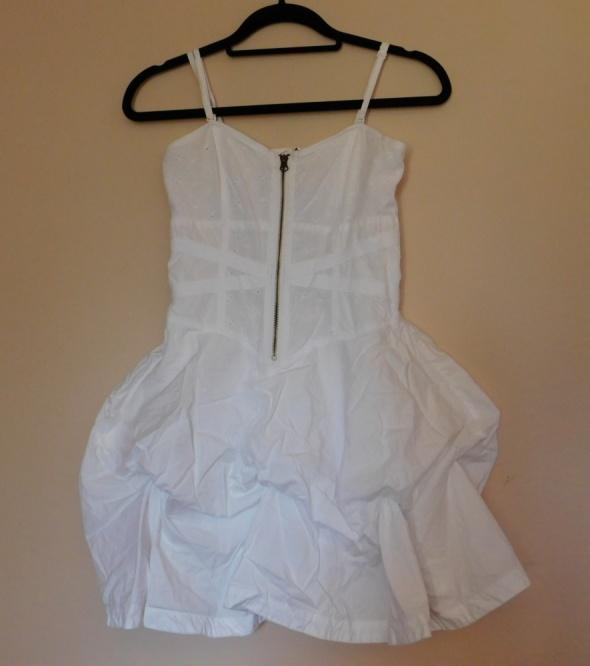 Miss Selfridge biała sukienka 36