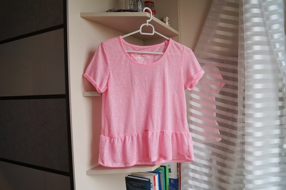 Różowa bluzka M