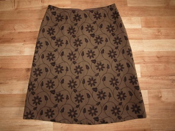 Wełniana spódnica S M