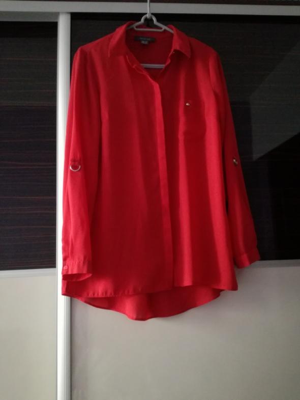 Koszule Czerwona koszula M L