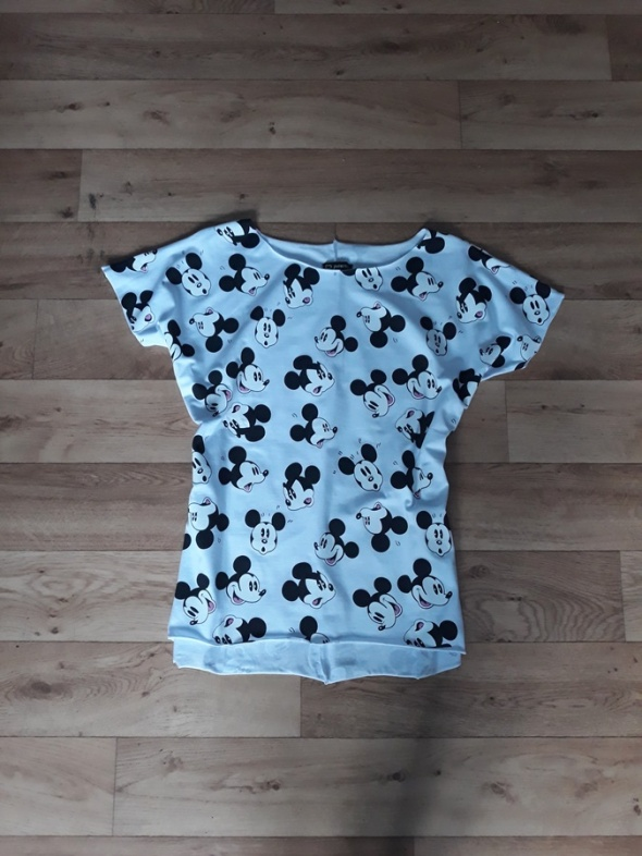 Bluzki Nowa biała bluzka myszki Mickey Miki M L