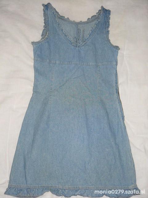 Jeansowa sukienka 38