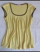 ORSAY żółta bluzka pasująca na rozmiar 40 L i 42 XL...