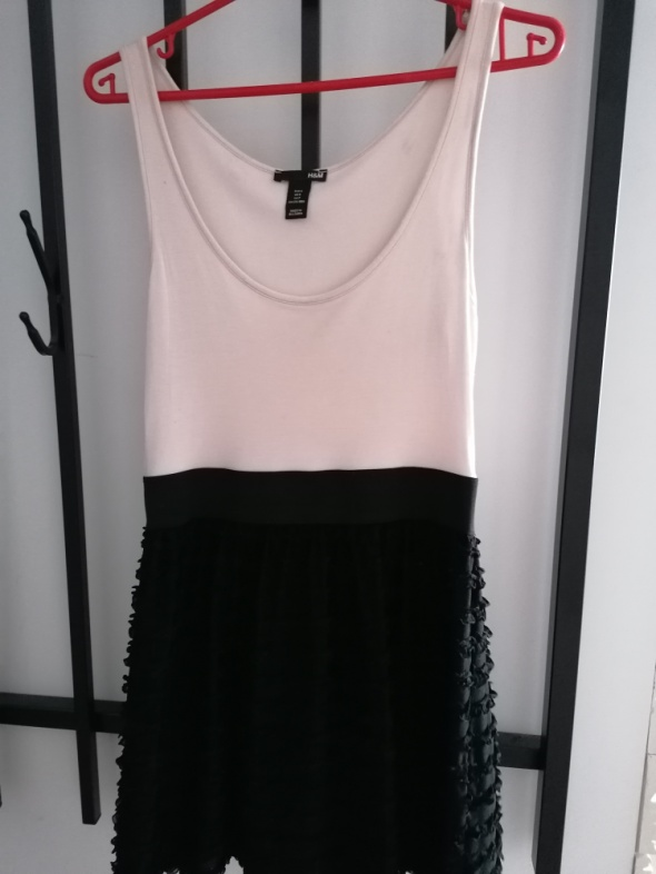 sukienka H&M XS S...