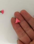 Kolczyki wkrętki trójkąty...