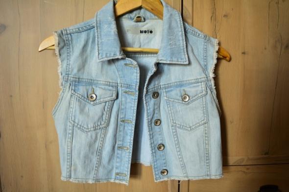 Kamizelka jeansowa topshop