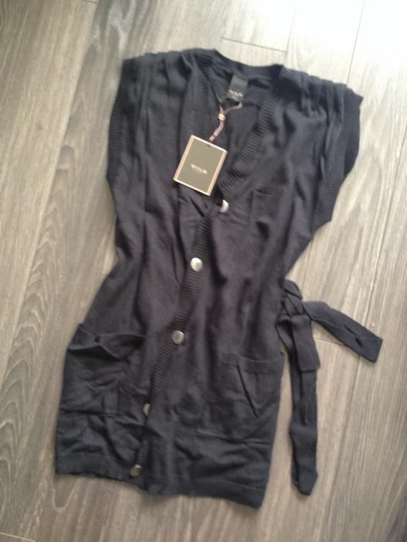VILA NOWA kamizeka czarna modny fason
