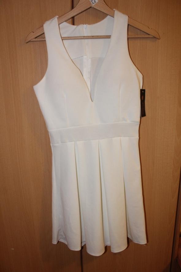biala nowa sukienka