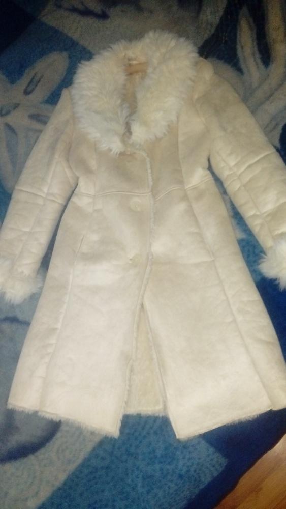 Piękne futerko płaszcz