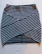 spódniczka mini asymetryczna...