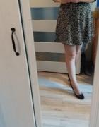 spódnica rozkloszowana panterka...