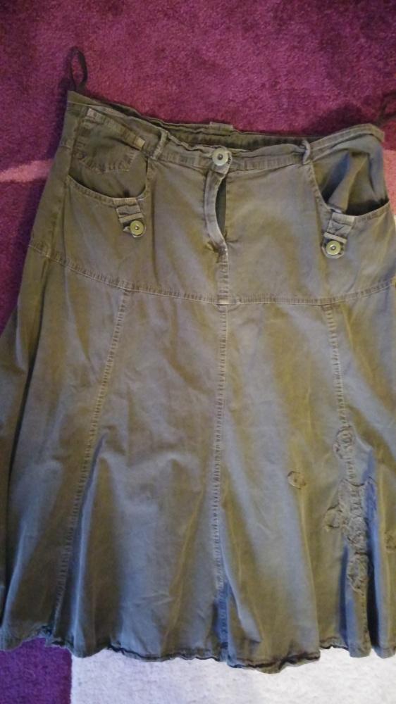 Bawełniana spódnica XL
