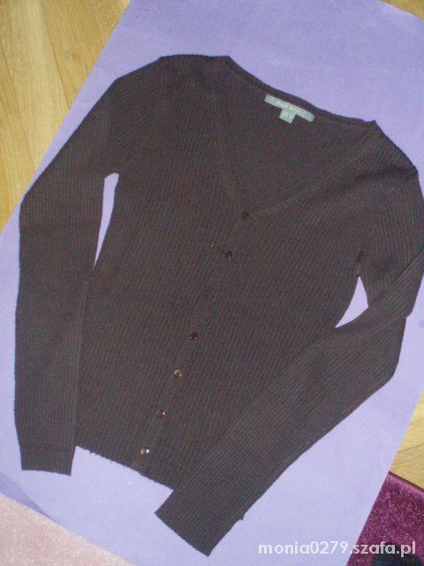 Brązowy sweterek L
