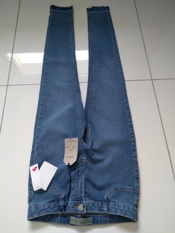 Jeansy spodnie rurki C&A rozmiar 36