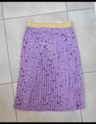 Numph nowa spódnica plisowana midi wzory print...
