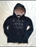 Holliester granatowa bluza M L...