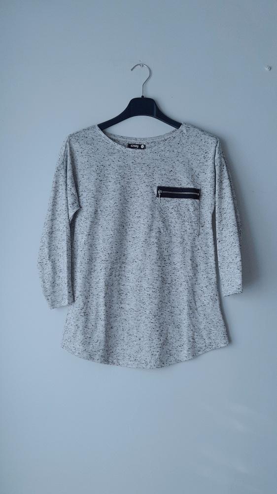 Idealna siwa bluzka sinsay xs