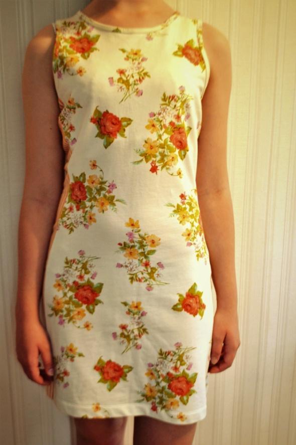 Sukienka z bawełny na lato XS Bawełna