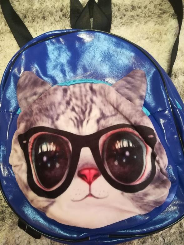Nowy plecaczek z kotkiem na wycieczkę lub do przedszkola
