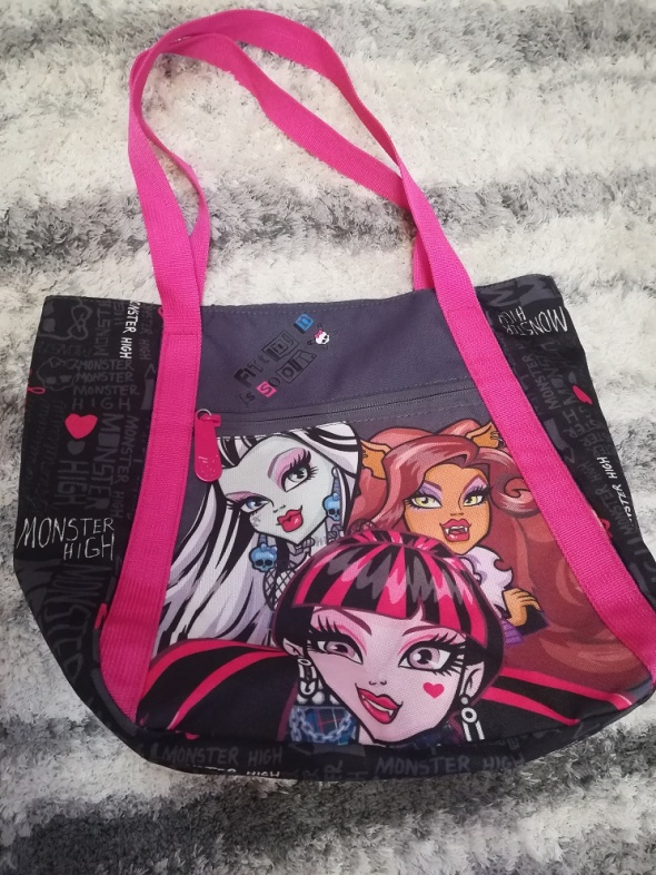 Firmowa torba Monster High jak nowa