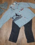 Zestaw chłopiec koszula spodnie Tomek i przyjaciele rozm 98...