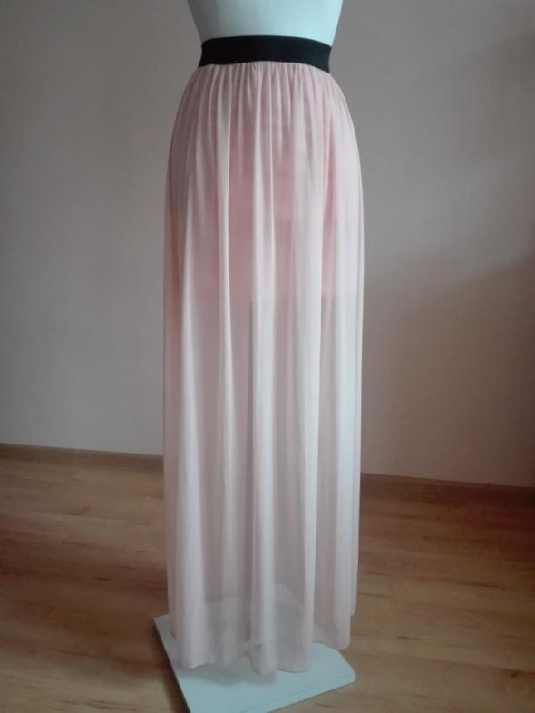 szyfonowa spódnica