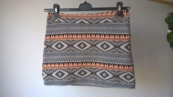 Spódniczka mini azteckie wzory