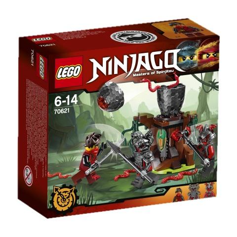 LEGO NINJAGO Atak Cynobru 70621