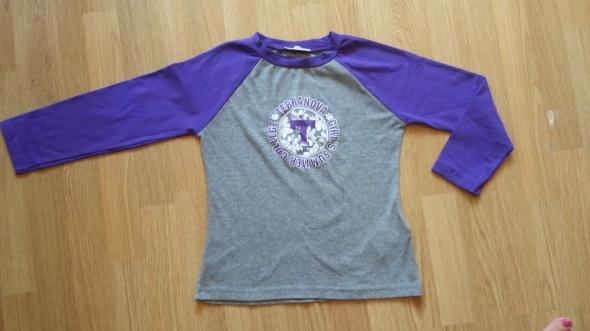 śłiczna sportowa bluzka Terranova nowa rozmiar S...