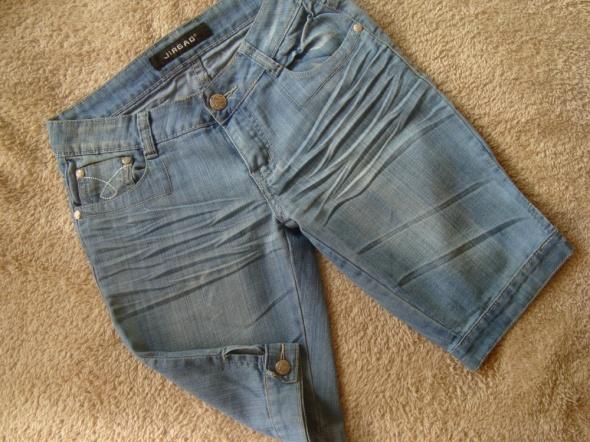 Jasno Niebieskie Jeansowe Rybaczki S