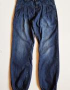 KIDS Spodnie jeansy dla dziewczynki z gumką na nogawkach Rozm 1...