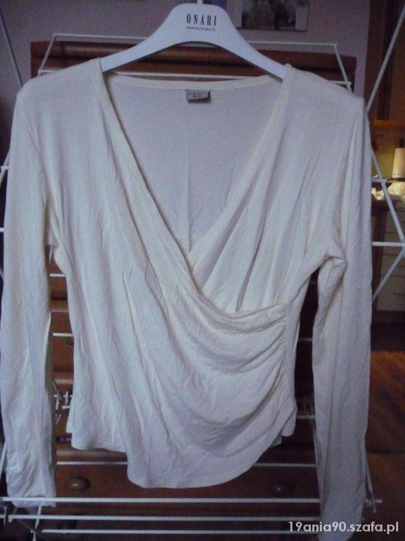 Kopertowa bluzka beżowa