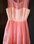 Sukienka łososiwa