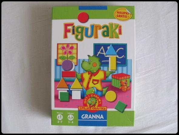 GRANNA gra dla dzieci FIGURAKI rozpoznawanie kolorów i kształtó...