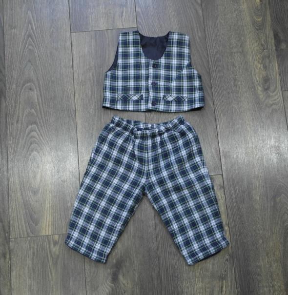 Spodnie i kamizelka dla małego eleganta 68