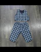 Spodnie i kamizelka dla małego eleganta 68...