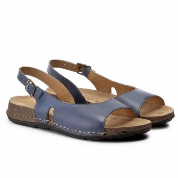 Niebieskie sandały Lasocki