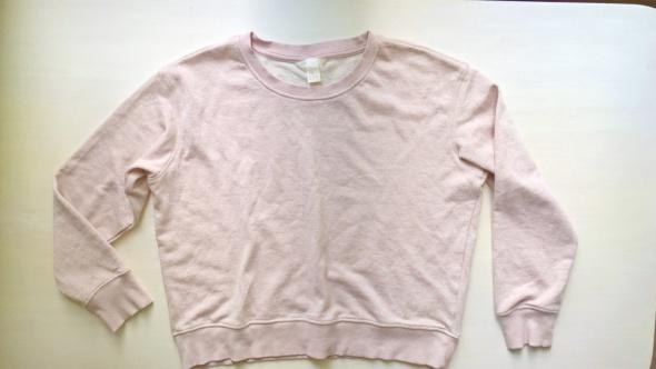Pudrowa bluza HM Basic S M L